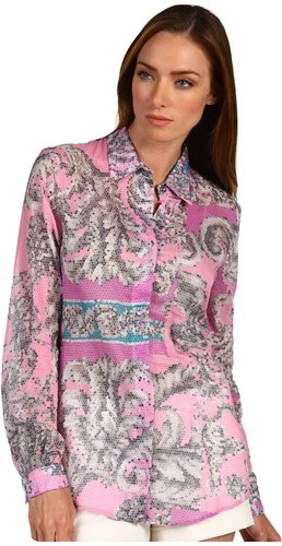 Versace Collection - G31071 G600590 G7675 (Pink Multi) - Apparel