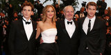 Jennifer Lawrence Gets in on the Glam in Cannes With Eva and Doutzen