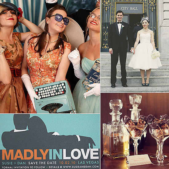 Have a Mad, Mad Men Wedding If you're as big of a Mad Men fan as we are, check out these swingin' ways to incorporate the '60s-era show into your big day.