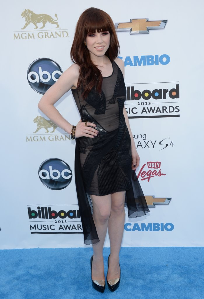 Carly Rae Jepsen at the 2013 Billboard Awards.