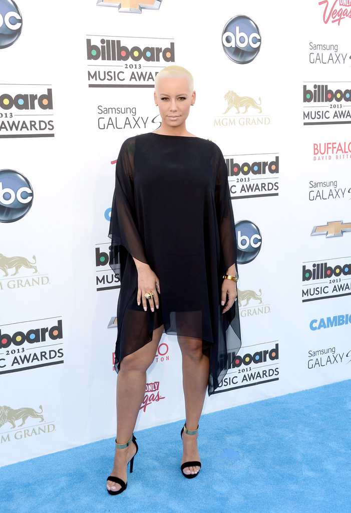 Amber Rose at the 2013 Billboard Awards.