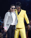Psy and Tracy Morgan joked around at the Billboard Music Awards.