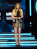 Chloë Grace Moretz presented during the show.