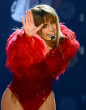 Jennifer Lopez danced her way through the performance.