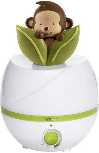 Kids Line Ultrasonic Cool Mist Monkey Humidifier