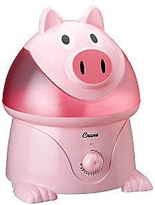 Crane Cool Mist Pink Pig Humidifier