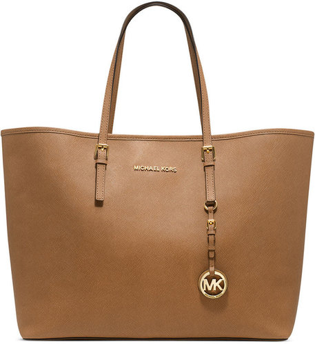 MICHAEL Michael Kors Handbag, Saffiano Medium Travel Tote