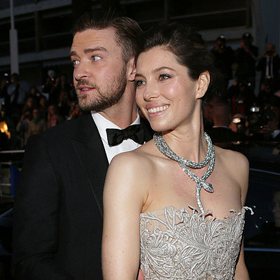 Justin Timberlake &amp; Jessica Biel at Cannes Film Festival