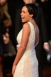 Rosario Dawson smiled on the red carpet at the Cannes Film Festival for the premiere of As I Lay Dying on Monday.