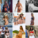 20 Celeb Moms Who've Rocked a Bikini While Pregnant
