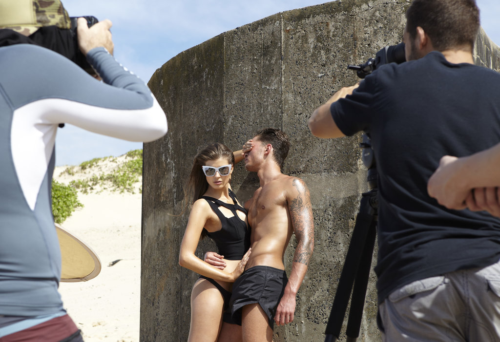 Go Behind the Scenes on Le Specs Le Sexy Shoot