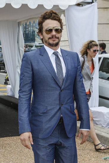 James Franco suited up in Cannes.