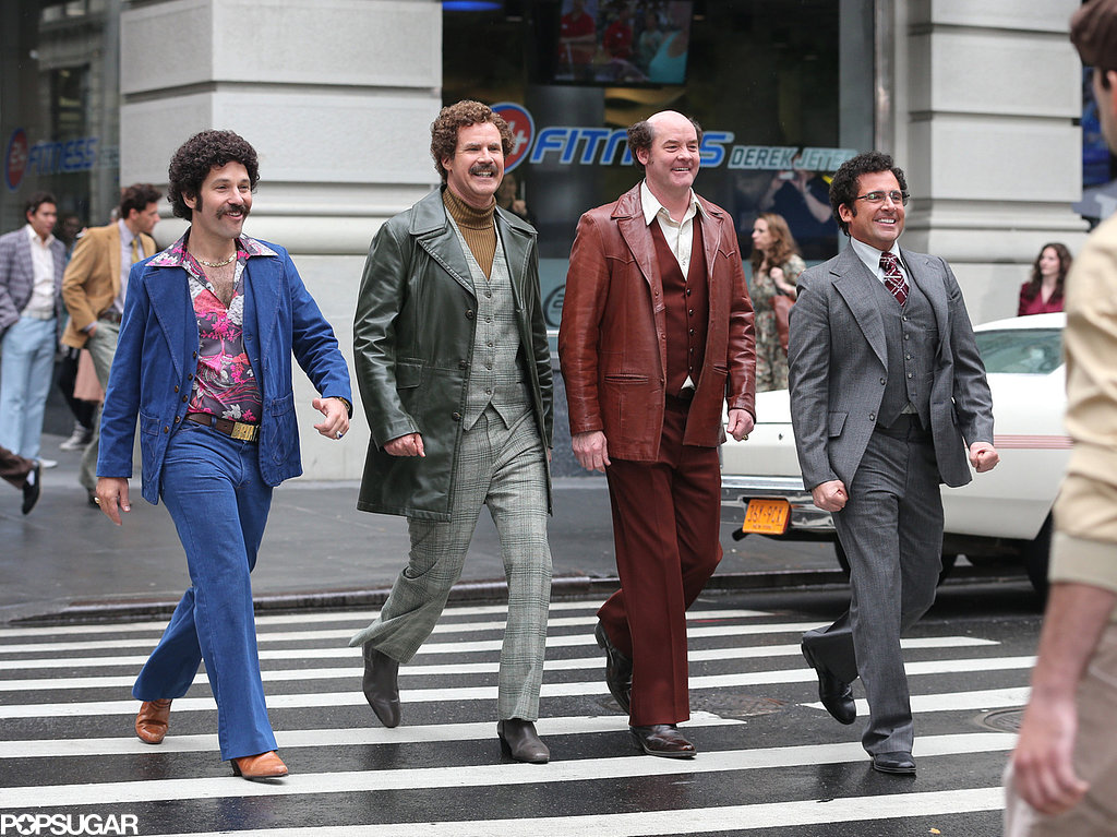 Drake Joins the Anchorman Crew For a Crazy Day on Set