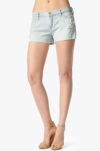 The Cut Off Short In Distressed Light