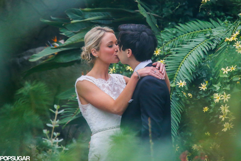 30 Rock's Katrina Bowden married her fiancé, Ben Jorgensen, in Brooklyn in May 2013.