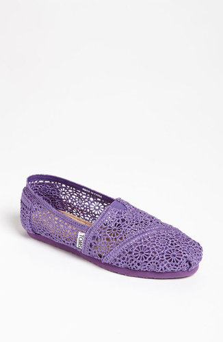 TOMS 'Classic' Crochet Slip-On (Women)