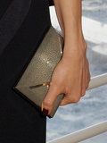 Olga Kurylenko carried a Smythson clutch.