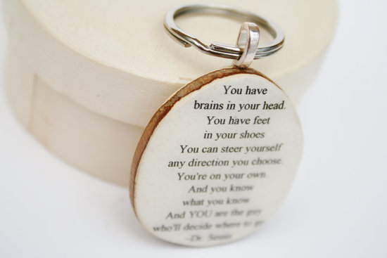 Motivational Keychain