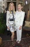 Kate Hudson showed her support for pal Gwyneth Paltrow at the Goop Summer party in London.