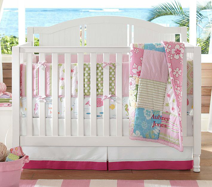 Pottery Barn Kids Key West Nursery Bedding