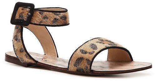 Luichiny Con Trast Flat Sandal