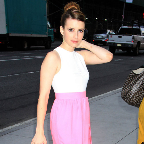 Emma Roberts in Pink Skirt | Pictures