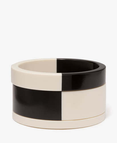 FOREVER 21 Colorblocked Bangle Set