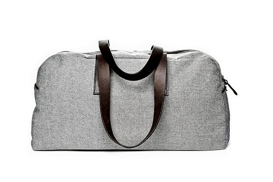 Everlane's reverse denim weekender bag ($95) will fit into a classic girl's closet seamlessly. The mix of denim and leather is especially eye-catching.