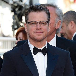 Matt Damon in Cannes, Premiere von Behind the Candelabra