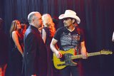 David Alford and Brad Paisley star in Nashville.