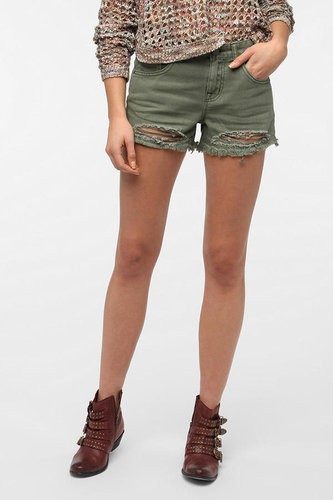 BDG Freja Mid-Rise Denim Cutoff Short
