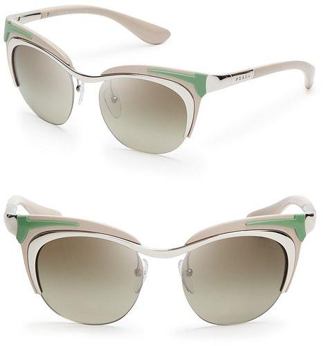 Prada Runway Cat Eye Sunglasses