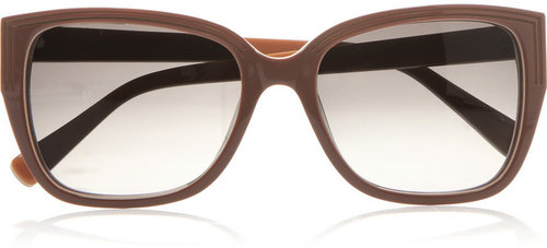 Marc by Marc Jacobs D-frame acetate sunglasses