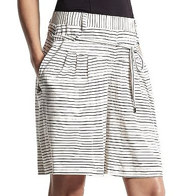 Exude effortlessness in these Derek Lam for DesigNation striped shorts ($16, originally $40).
