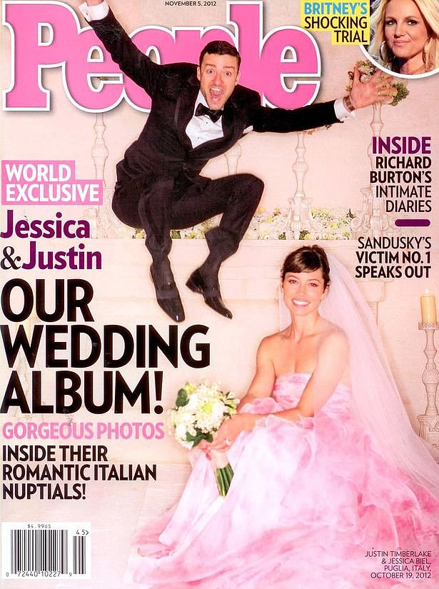 Jessica Biel and Justin Timberlake: October, 2012