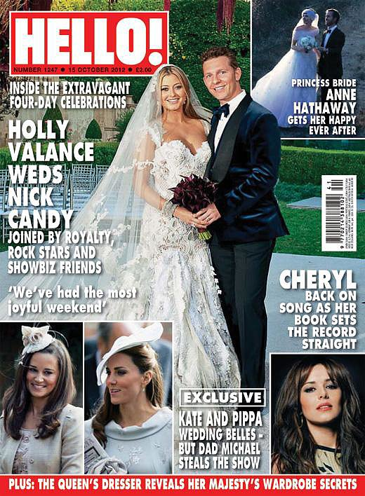 Holly Valance and Nick Candy: September, 2012