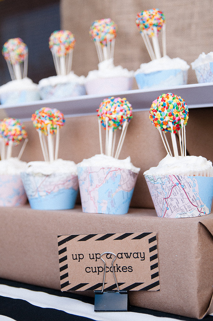 Up, Up, and Away Cupcakes