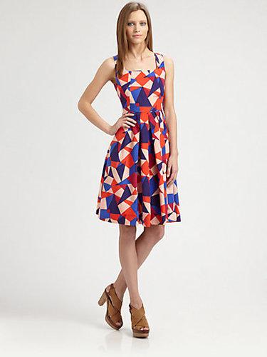 Marc by Marc Jacobs Taboo Silk/Cotton Print Dress