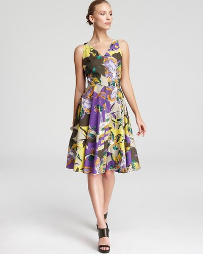 Max Mara Studio Saggina Print Dress