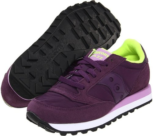 Saucony Originals - Jazz Original W (Purple) - Footwear