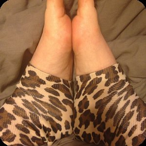 NightCare Leopard Moisturizing Socks