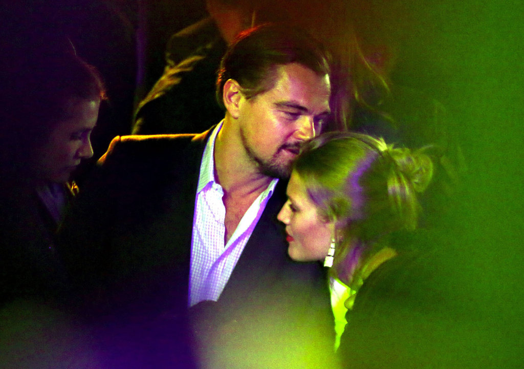 Leonardo DiCaprio had the company of a few female companions at the de Grisogono Cannes cocktail party.