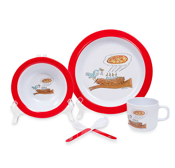Silly Souls Bird Craving Pizza Set