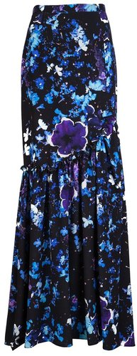 Peter Som Floral print skirt