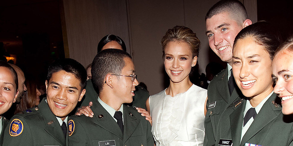 Raised in the Military: Celebs Who Come From Military Families
