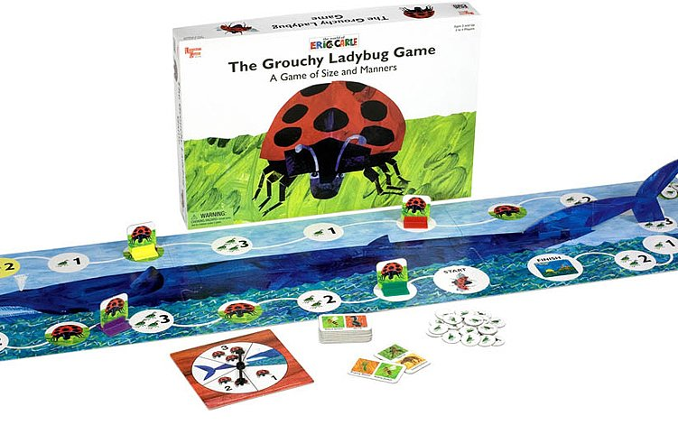 The Grouchy Ladybug Game