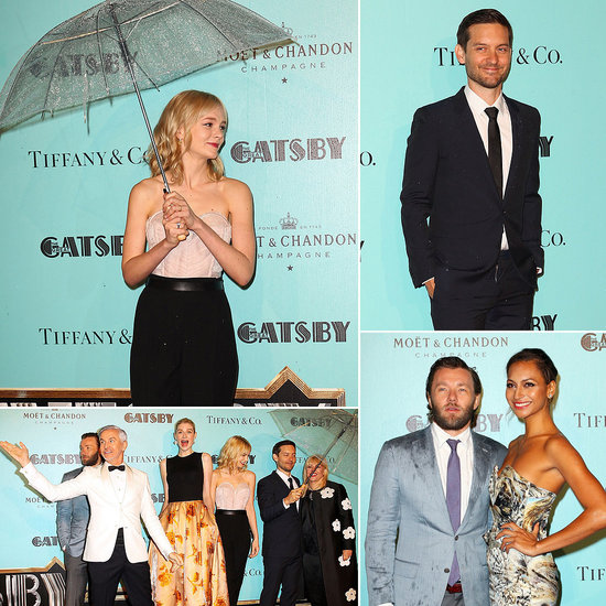 The Great Gatsby Stars Return to Sydney For a Glitzy and Rainy Premiere