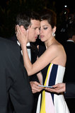 Marion Cotillard cuddled up to her real-life beau and Blood Ties director Guillaume Canet at their film's premiere.