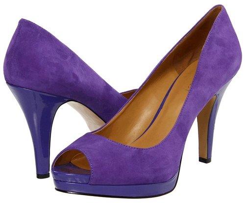 Nine West - Danee (Purple Suede) - Footwear