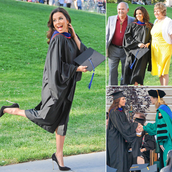 The Graduate: Eva Longoria Gets Her Master's!